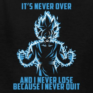 super saiyan goku - it's never over - Kids' T-Shirt