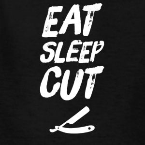 Eat Sleep Cut - Kids' T-Shirt