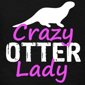 crazy otter lady - Kids' T-Shirt