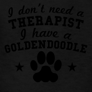 I Don't Need A Therapist I Have A Goldendoodle - Kids' T-Shirt