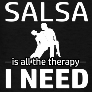 Salsa is my therapy - Kids' T-Shirt