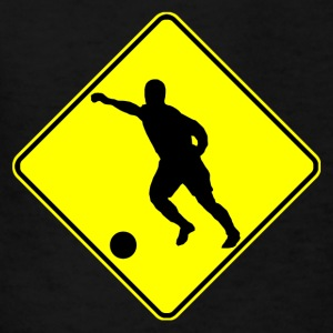 Soccer Player Crossing Sign - Kids' T-Shirt