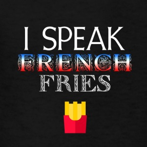 I speak French Fries - Kids' T-Shirt