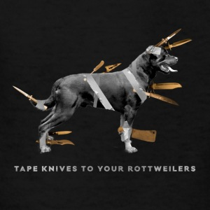 Tape knives to your Rottweilers - Kids' T-Shirt