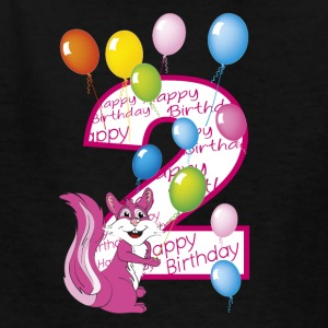second birthday pink 2 - Kids' T-Shirt