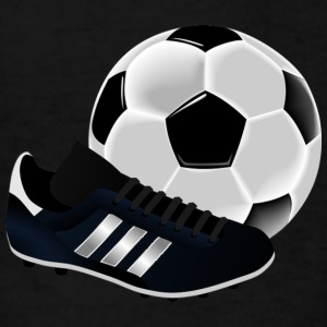 soccer ball with cleat - Kids' T-Shirt