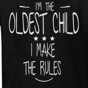 I'm the Oldest child shirt - Kids' T-Shirt