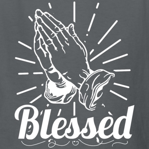 Blessed (White Letters) - Kids' T-Shirt