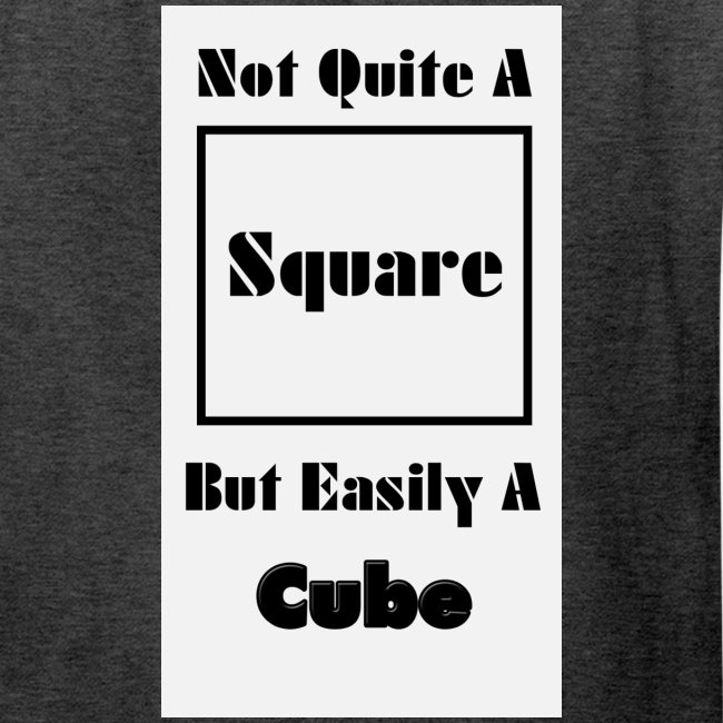 Not Quite A Square But Easily A Cube