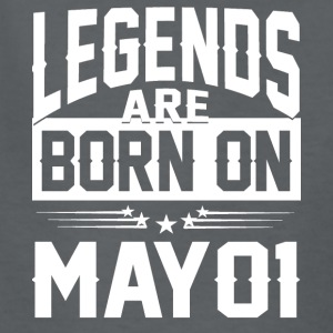 Legends are born on May 01 - Kids' T-Shirt