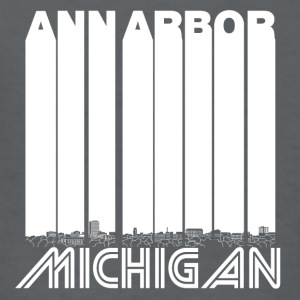 Retro Ann Arbor Michigan Skyline - Kids' T-Shirt
