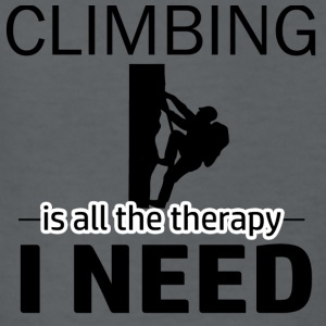 Climbing is my therapy - Kids' T-Shirt