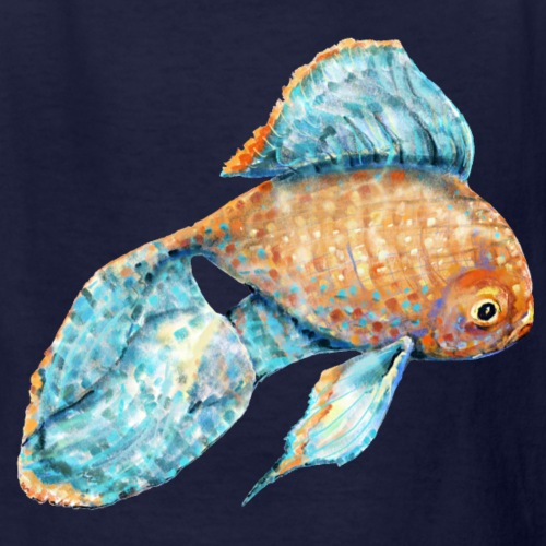 Blue Goldfish - Kids' T-Shirt