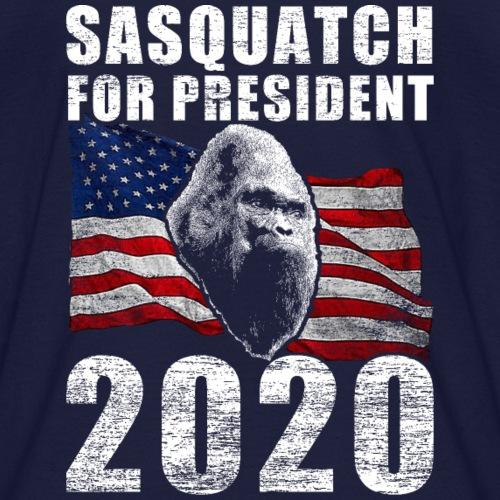Sasquatch Bigfoot For President 2020 Poster Shirt - Kids' T-Shirt