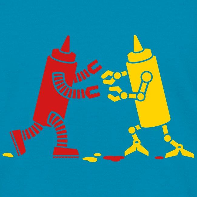 robot ketchupmustard