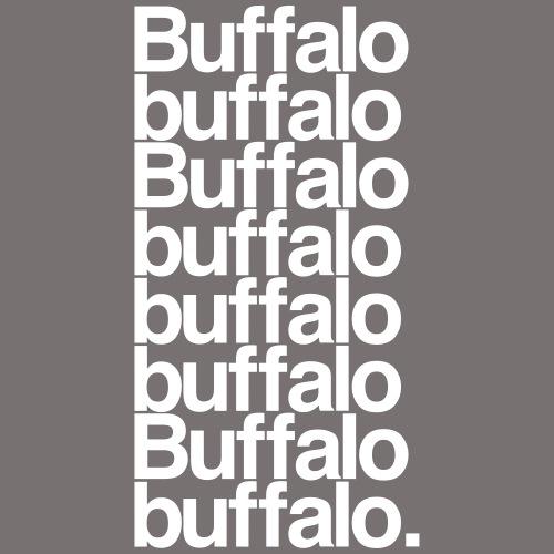 Buffalo buffalo Buffalo - Kids' T-Shirt
