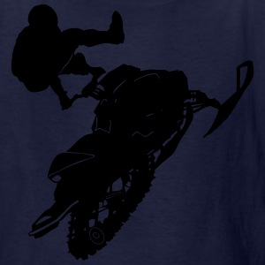 Snowmobil - Kids' T-Shirt