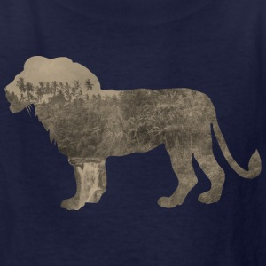 Silhouette Jungle Series Lion - Kids' T-Shirt
