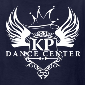All White KP Dance Logo - Kids' T-Shirt