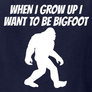 I Want To Be Bigfoot - Kids' T-Shirt