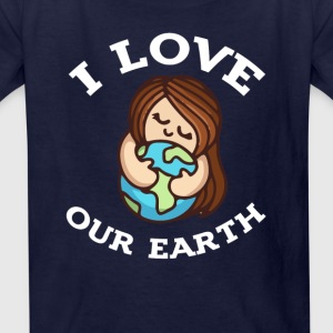 earth day i love our earth 2017 tshirt - Kids' T-Shirt