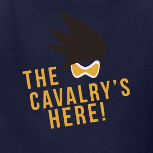 OVERWATCH TRACER THE CAVALRY'S HERE! DESIGN - Kids' T-Shirt