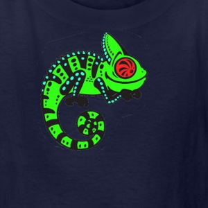Neon Lizard - Kids' T-Shirt