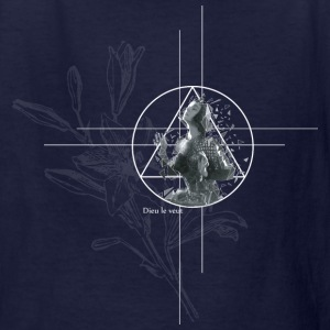 Joan d'Arc - dark version - Kids' T-Shirt