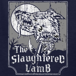 The Slaughtered Lamb vectorized - Kids' T-Shirt