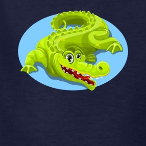 Cartoon Crocodile Vector Design 2 - Kids' T-Shirt
