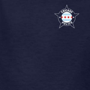 Chicago Police T Shirt - Chicago Flag - Kids' T-Shirt
