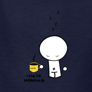 hate monday - Kids' T-Shirt