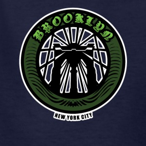 Brooklyn Bridge - NYC - New York City Money Green - Kids' T-Shirt
