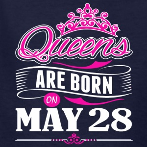 Queens are born on May 28 - Kids' T-Shirt