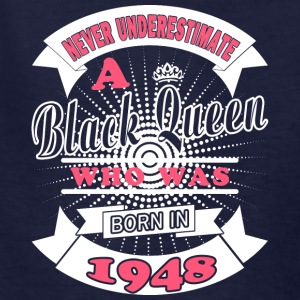 Black Queens Born in 1948 - Kids' T-Shirt