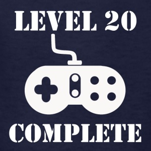 Level 20 Complete 20th Birthday - Kids' T-Shirt