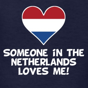 Someone In the Netherlands Loves Me - Kids' T-Shirt