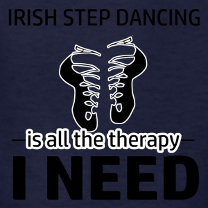Irish Step-Dancing is my therapy - Kids' T-Shirt