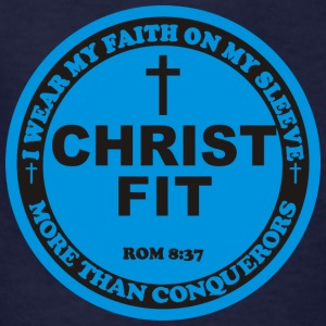 Round Christ Fit label - Kids' T-Shirt