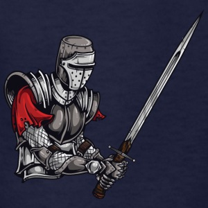 KNIGHT BATTLE WITH LONG SWORD - Kids' T-Shirt