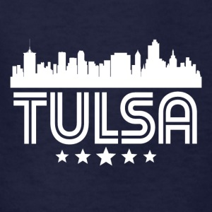 Retro Tulsa Skyline - Kids' T-Shirt