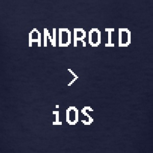 Android is Greater than iOS - Kids' T-Shirt