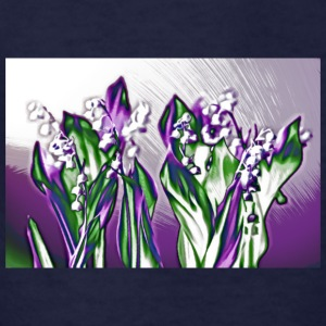 Lavender Lily of the Valley Sketch - Kids' T-Shirt