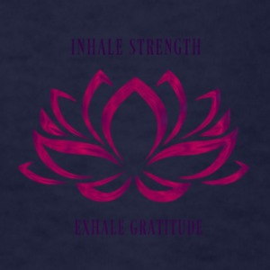 INHALE STRENGTH EXHALE GRATITUDE - Kids' T-Shirt