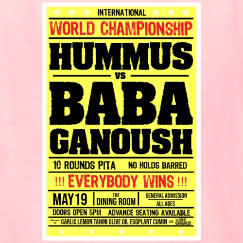 Hummus vs Baba Ganoush - Kids' T-Shirt