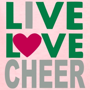 Live Love Cheer - Kids' T-Shirt