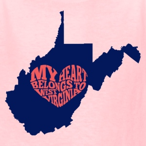 West Virginia - Kids' T-Shirt
