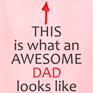 Fathers Day Gift - This is What an Awesome DAD - Kids' T-Shirt