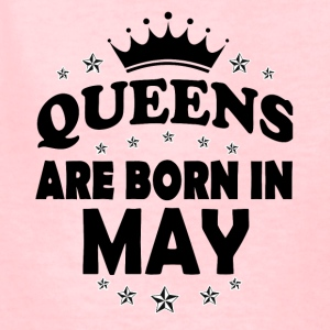Queen May Birthday - Kids' T-Shirt