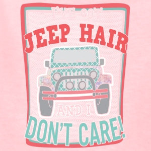 I've got jeep hair and I don't care - Kids' T-Shirt